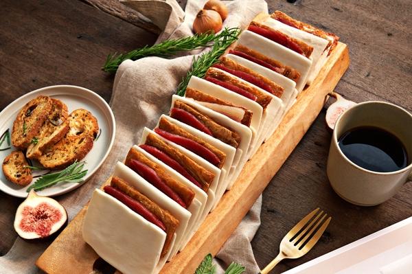 彌月油飯,富貴雙方,蜜汁火腿,彌月禮盒